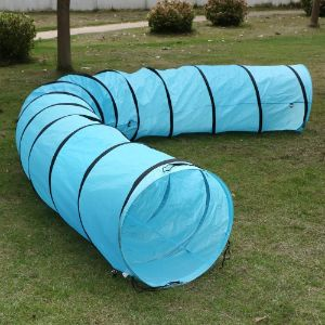 Yaheetech 18ft Dog Agility Obedience Training Tunnel