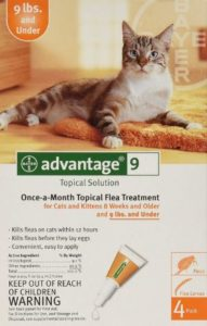 Advantage Once-A-Month Topical Flea Treatment for Cats