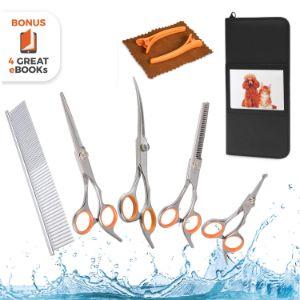 AEXYA Premium Dog Grooming Scissors Kit