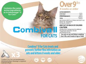 Combiva II for Cats Over 9 lbs