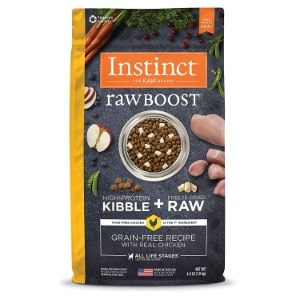 Instinct Raw Boost Grain Free Recipe Natural Dry Dog Food