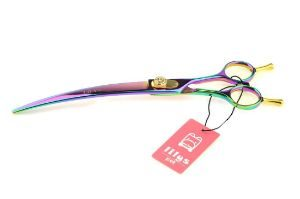 LILYS PET Two-Way Curved Scissors