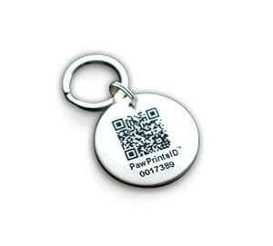 Paw Prints ID QR Smart GPS