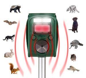 Pigwo Animal Repellent Ultrasonic Outdoor