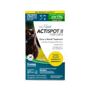 TevraPet Actispot II Flea Prevention & Treatment for Cats
