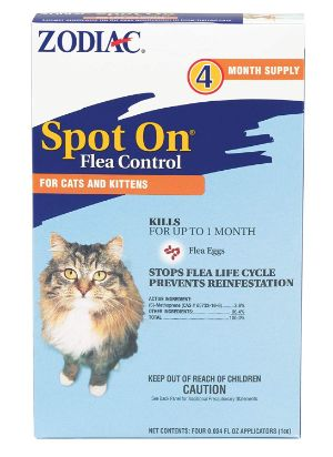 Zodiac Flea & Tick Spot On for Cats & Kittens