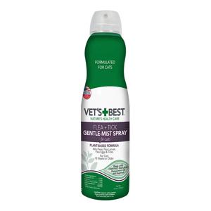 Vet's Best Flea & Tick Gentle Mist Spray for Cats