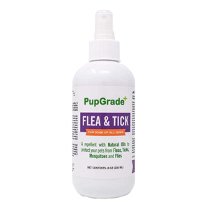 PupGrade All Natural Flea & Tick Prevention Spray for Dogs