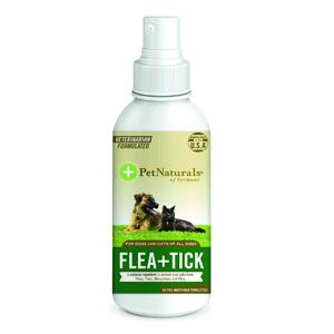 Pet Naturals of Vermont - FLEA + TICK Repellent Spray