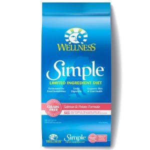 Wellness Simple Dry Dog Food Salmon and Potato