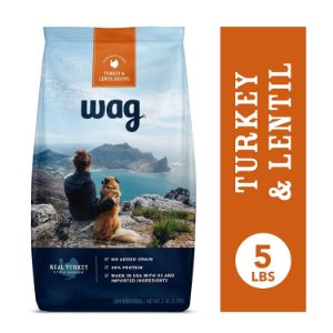 Wag Turkey and Lentil Dog Food