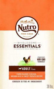 Nutro Wholesome Essentials Chicken Flavored Dog Food