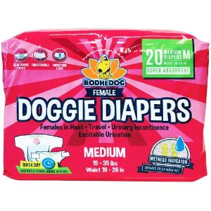 Bodhi Dog Disposable Female Dog Diapers
