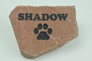 GraphicRocks Personalized Pet Memorial Headstone
