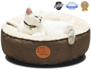 HACHIKITTY Round Cat Bed