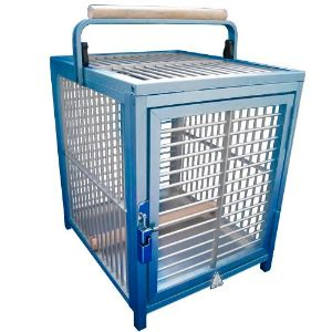 King's Cages ATT 1214 Aluminum Parrot Bird Cage pet Travel Carriers Cages