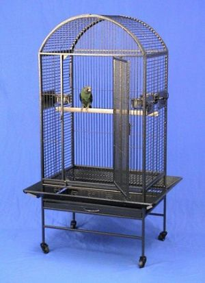 Lihue Landing Dometop Bird Cage with Stand