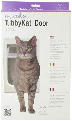 Perfect Pet Tubby Kat Cat Pet Door with 4 Way Lock