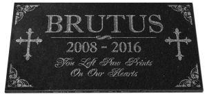 Pet Memorial Stones Granite Pet Grave Markers