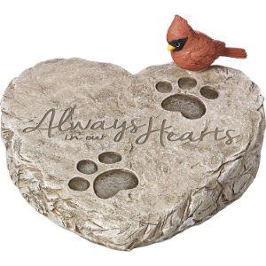 Precious Moments Pet Memorial Garden Stone