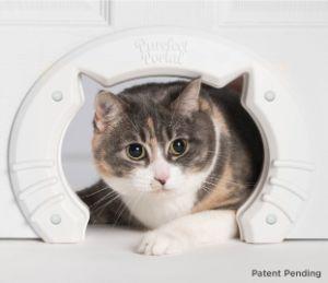 Purrfect Portal Built in Interior Pet Cat Door for Medium & Large Cats