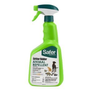 Safer Brand 5935 Critter Ridder Animal Repellent Ready-to-Use Spray