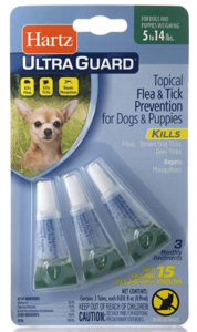 Hartz Ultraguard Flea & Tick Drops
