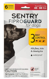 Sentry Fiproguard Topical Flea & Tick