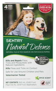 Sentry Natural Defense Flea & Tick