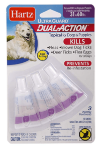 Hartz Topical Flea & Tick Dual Action