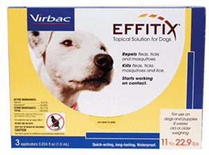 Virbac Effitix Flea/Tick