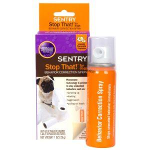 Sentry Good Behavior Stop That! Noise & Pheromone Spray for Dogs