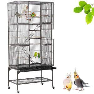 Yaheetech 69''H Extra Large Bird Cage