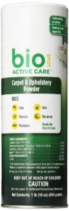 Bio Spot Active Care Flea & Tick Carpet & Upholstery Powder