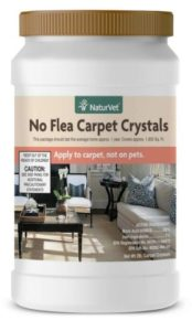 NaturVet No Flea Carpet Crystals for Carpets and Upholstery