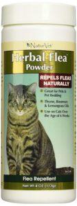 NaturVet Herbal Flea Pet Powder for Cats
