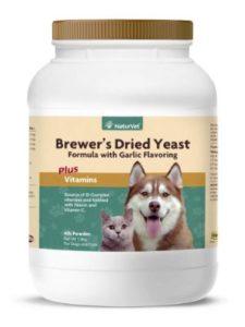 NaturVet Brewer's Yeast formula -Garlic Flavor