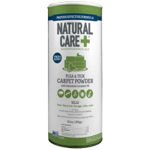Natural Care Flea and Tick Carpet Powder
