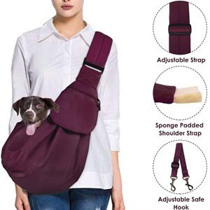 AutoWT Dog Padded Papoose Sling
