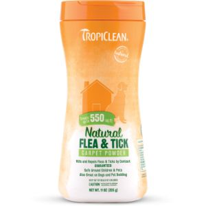 Tropiclean Natural Flea & Tick Carpet Powder
