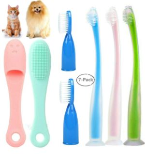 Pienoy Dog Toothbrush with Soft Bristle