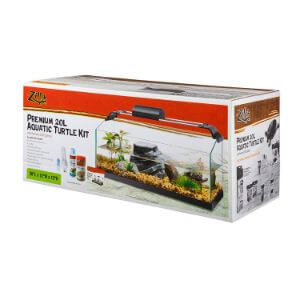 Zilla Premium Rimless Aquatic Turtle Habitat Kit