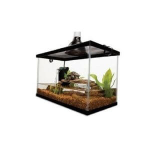 khonanpai 10 Gallon Aquarium Starter Kit Turtle Habitat