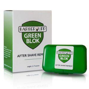 BarberUpp Styptic skin soothing Alum Green Blok