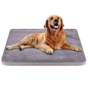 JoicyCo Dog Bed Crate Pad Dog Mat Mattress