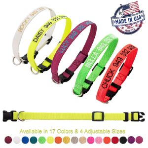 Petsonalize Made in USA Dog Collar