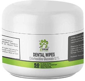 ZPAW Dental Wipes for Dogs
