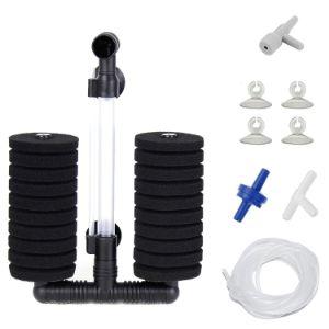 Aquaneat Large Air Pump Double Sponge Filter-min