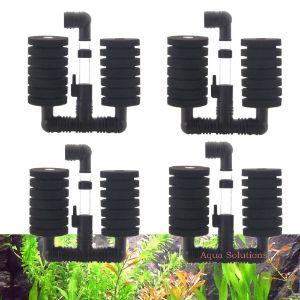Aquapapa 4X Dual Bio Sponge Filter-min