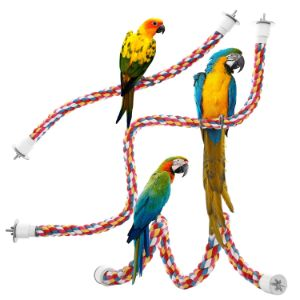 Jusney Bird Rope Perches